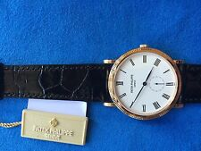Patek Philippe 5119R-001. Calatrava 36 mm Rose Gold. 100% new and complete