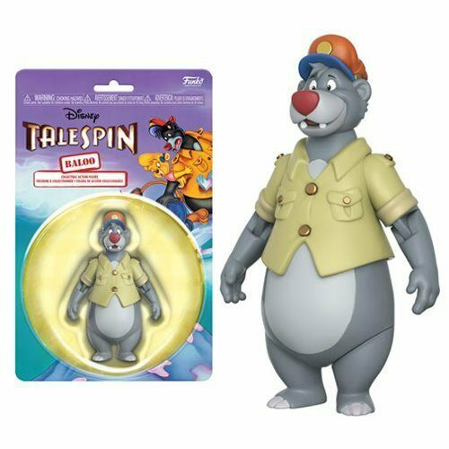 DISNEY TAILSPIN PVC FIGURE BALOO APPLAUSE 1992 3 INCHES