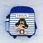 Childrens School Bag Personalised Pirate Monkey Boys Kids Backpack