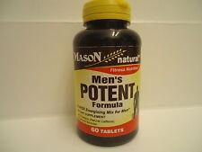 Yohimbe 500 mg Guarana 800 mg Ginseng 500 mg 60 Tabs SEXUAL ENERGY MEN'S POTENT