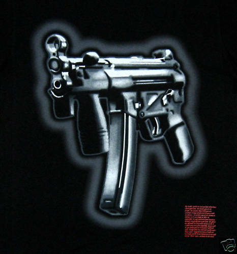 New ARME blueESTEEL T-Shirt Hip Hop Shirt  AIRBRUSH Print