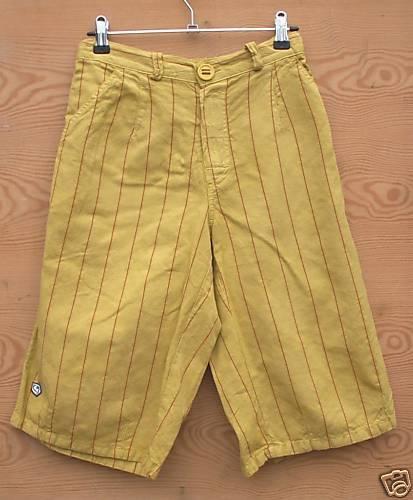 E9 Shorts Shorts Shorts Khaled für Herren Gr. XS Neu Gelb e80447