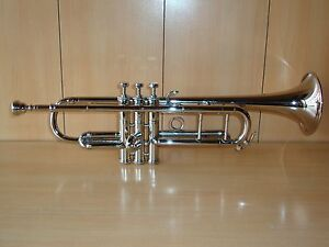 MARVELOUS OSWAL STUDENTS New Silver Bb Trumpet With Free Hard Case+Mouthpiece