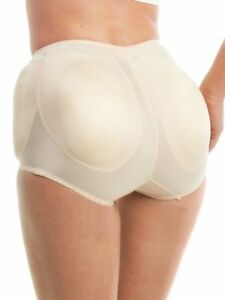 3105df9b041 Rago Shapewear 4 Sided Padded Light Shaping Beige Panty Brief Size ...