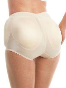 ef481e59e23 Rago Shapewear 4 Sided Padded Light Shaping Beige Panty Brief Size ...
