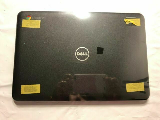 "5HR53  Dell Chromebook 3180 LCD Back Cover Lid With Hinges  05HR53 /""F7-01/""D"