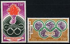Congo 1971 SG#304-5 Olympic Games MNH Set #D39690