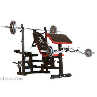 Banco de musculacion Pro10 profesional  Modelo ES536