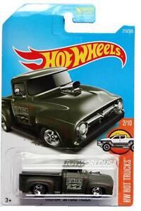 2017 Hot Wheels 215 Hw Hot Trucks Custom 56 Ford Truck Ebay