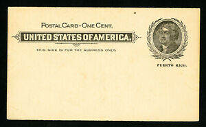 US-Stamps-ux3-XF-Mint-Postal-Card-Catalog-Value-150-00
