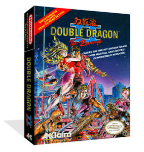 double dragon nes box art