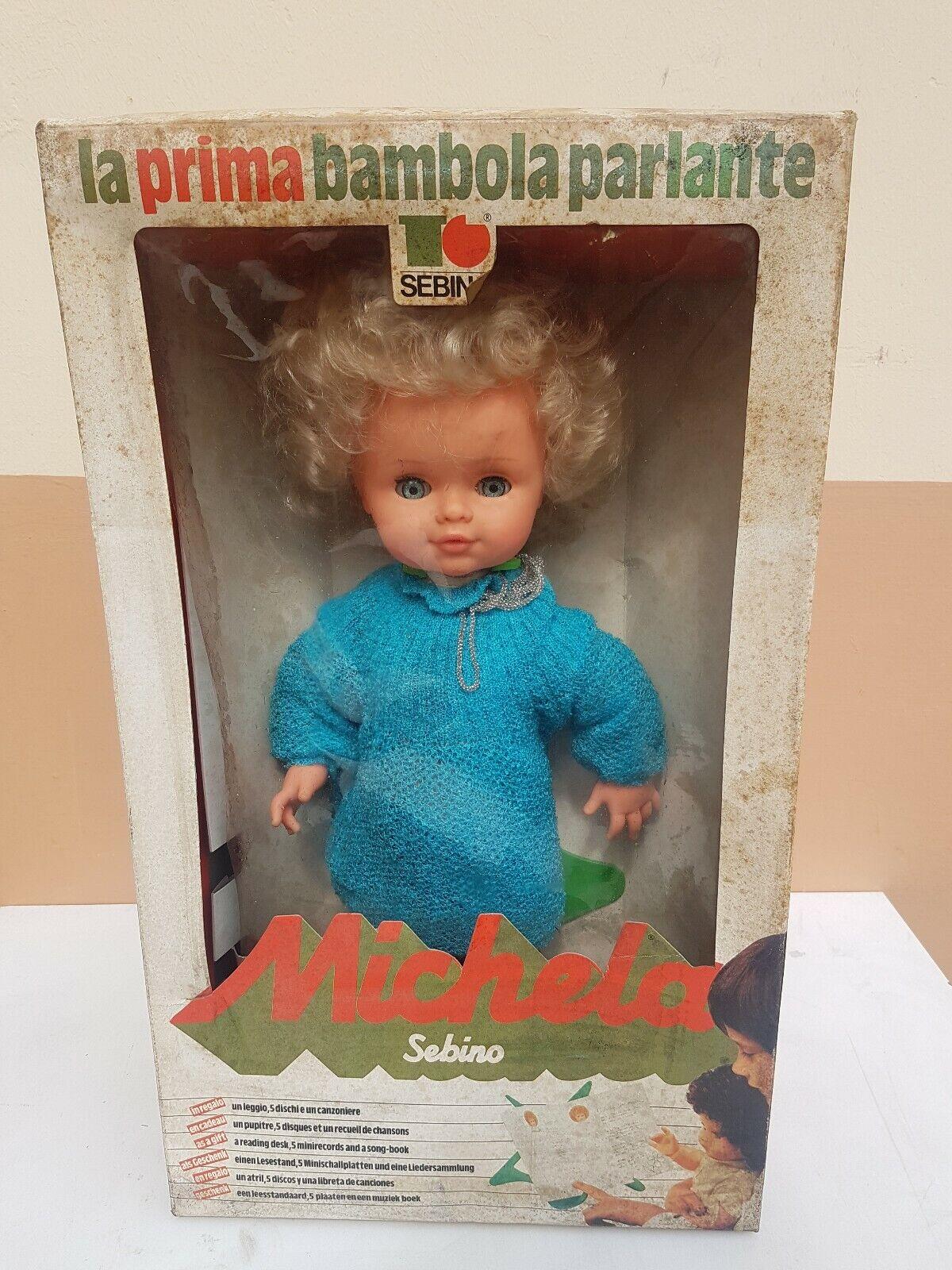 Bambola MICHELA Sebino,  La Prima Bambola Parlante  merce di alta qualità e servizio conveniente e onesto