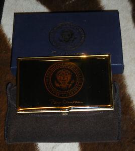 Clinton-Presidential-Seal-Card-Case-Gift