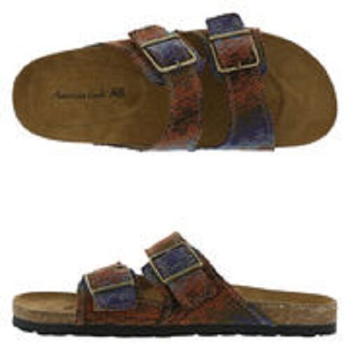 NWT CUTE MULTI COLOR AMERICAN SLIDE SIZE 12 BY AMERICAN COLOR EAGLE----5 bede32