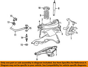dodge chrysler oem 06 08 ram 1500 front suspension coil spring rh ebay com dodge ram 1500 front suspension diagram 2001 dodge ram suspension diagram