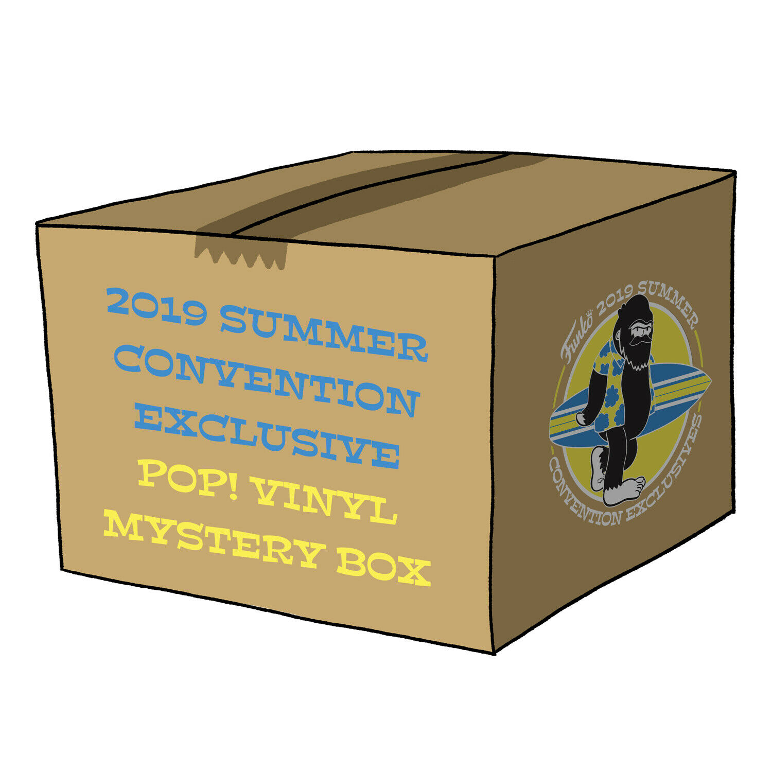 Funko Poplandia Mystery Box - 2019 Summer Convention Exclusives (6 Mystery Pops)