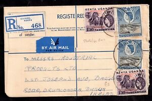 British-KUT-QEII-1957-Registered-Postal-History-Cover-to-Dublin-WS14920