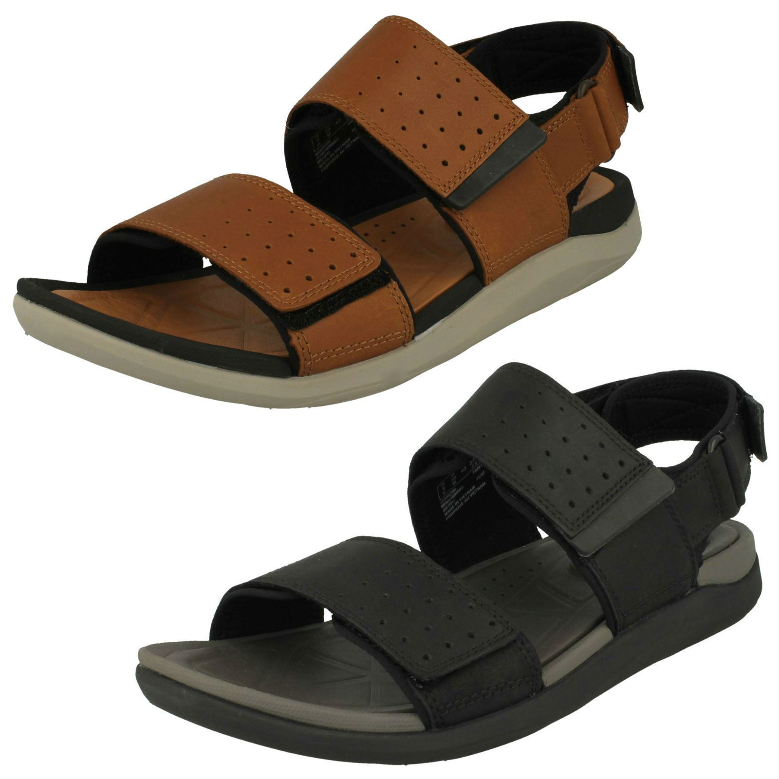 Man's/Woman's Mens Clarks feature Strapped Sandals *Garratt Active* feature Clarks Reliable performance Export cc0c1e