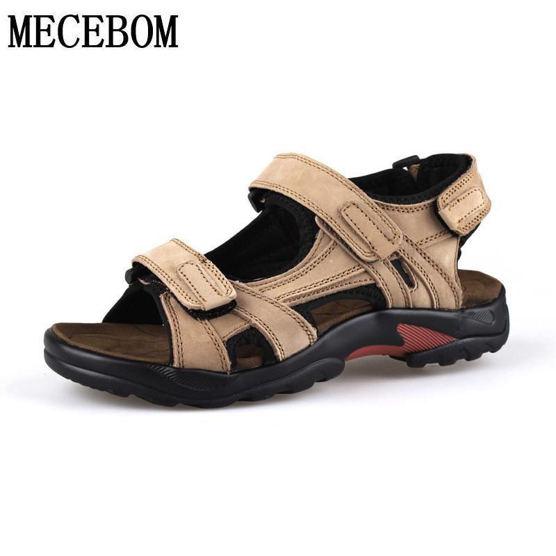 Men's Sandals grandi dimensioni  48 estate tempo libero Genuine Sandals loop qualita  edizione limitata a caldo