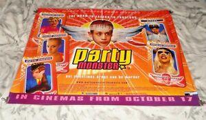 Party Monster Original UK Quad Movie Cinema Poster 2003 Macaulay Culkin