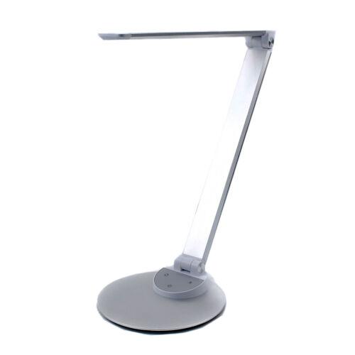 C09 TaoTronics TT-DL19 LED Büro Schreibtischlampe Tageslicht 3000-6000K USB silb