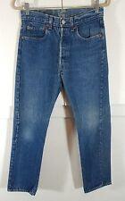 Vintage Men's Levi's 501-0115 medium wash button fly jeans size 29x29