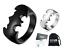 Anello-Batman-Nero-Argento-Uomo-Donna-Acciaio-Inox-Personalizzabile-Incisione miniatura 1