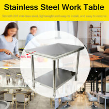 Stainless Steel Food Prep Tableheavy Duty Commercial Kitchen Metal Table40x28