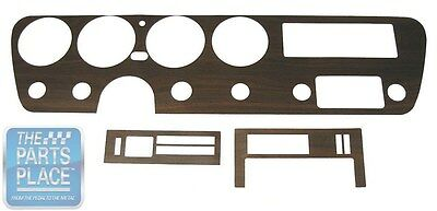 1967 Pontiac GTO Dash Woodgrain Insert With Or Without AC