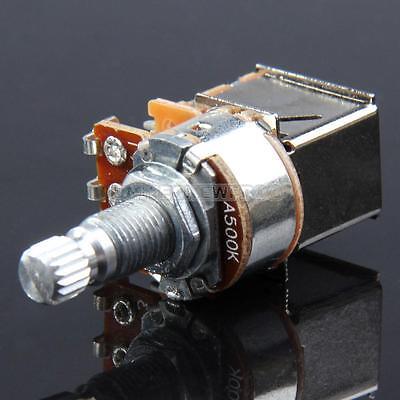UN3F A500K B500K A250K B250K Push Pull Guitar Control Pot Potentiometer