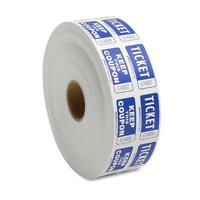 Sparco Ticket Roll Double W/coupon 2000/rl Blue 99230 on sale