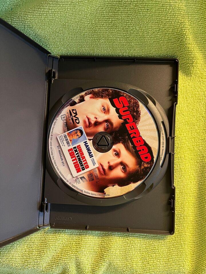 Superbad , DVD, komedie