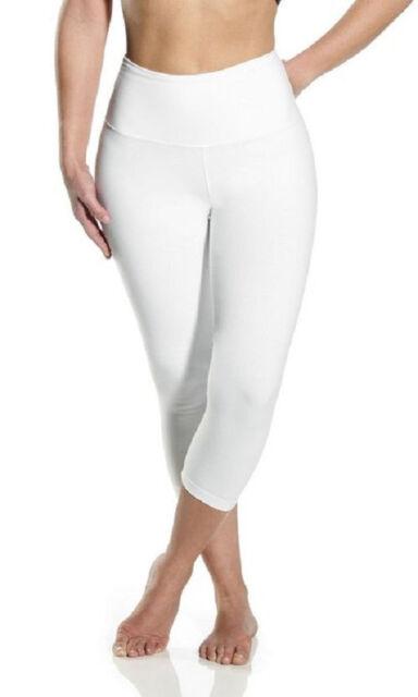 6885b3b2cf3f5d Lysse Leggings 1215 Shaping Capri Legging White Size XL for sale ...