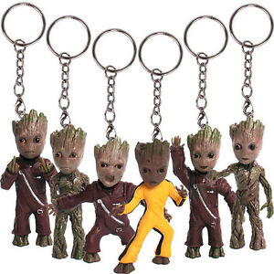 KeyChain-Guardians-of-the-Galaxy-Vol-2-Baby-Groot-3-034-Figure-Statue-Gift-Toy-New