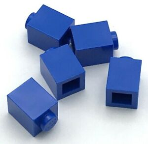 LEGO LOT OF 100 BLUE 2 X 2 DOT PLATES BUILDING BLOCKS PIECES