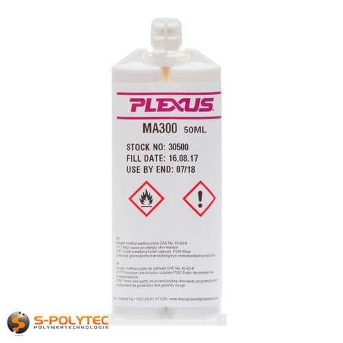 2K Kleber Kunststoff Plexus MA 300 Industriekleber Karosseriekleber Metall, Alu