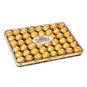 Ferrero Rocher Hazelnut Chocolates Pack of 48