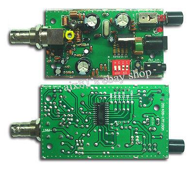 5V/ 12V BH1417F PLL Stereo FM Radio Transmitter Module DIY Digital Radio Station