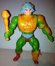 Man-At-Arms Red Dot Variant Vintage MOTU Masters Universe 8-Back He-Man complete
