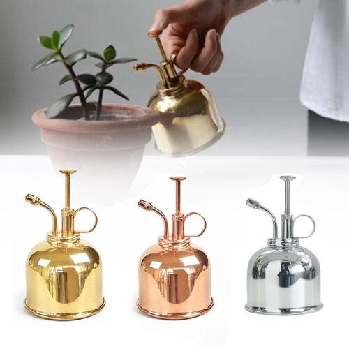 300ml Copper Plant Flower Watering Cans Pot Spray Bottle Garden Mister Sprayer n