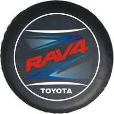 "Spare Wheel Tire Cover Soft Series For TOYOTA RAV4 28"" 29"" Black"