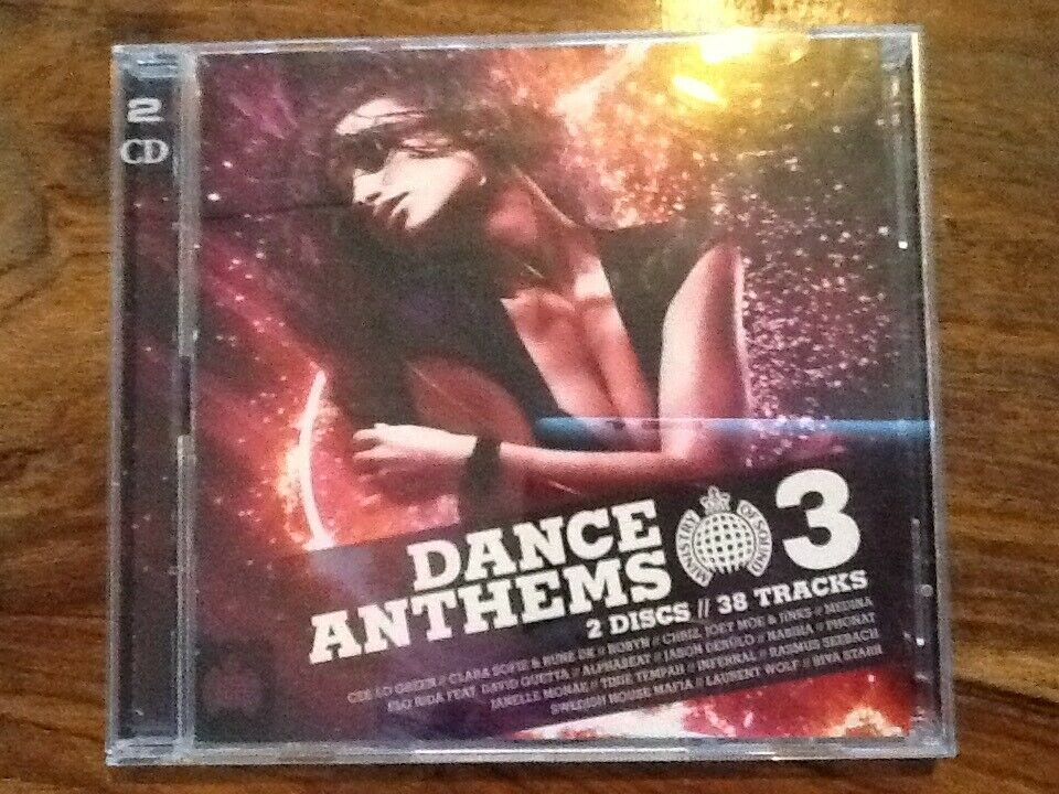 Diverse kunstnere: Dance Anthems 3, electronic