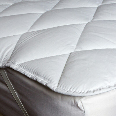 Luxury Cotton Rich Quilted Mattress Topper Single,Double,King
