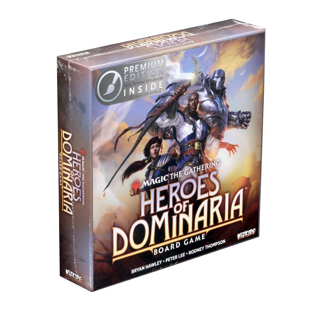 Magic the gathering  helden der llanowar - brettspiel premium edition wzk 73468