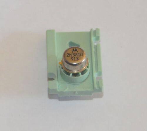 Motorola 2N3810 Dual Transistor  TO-92 Can