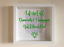 IKEA-RIBBA-Box-Frame-Personalised-Vinyl-Wall-Art-Quote-Life-isnt-all-about thumbnail 6