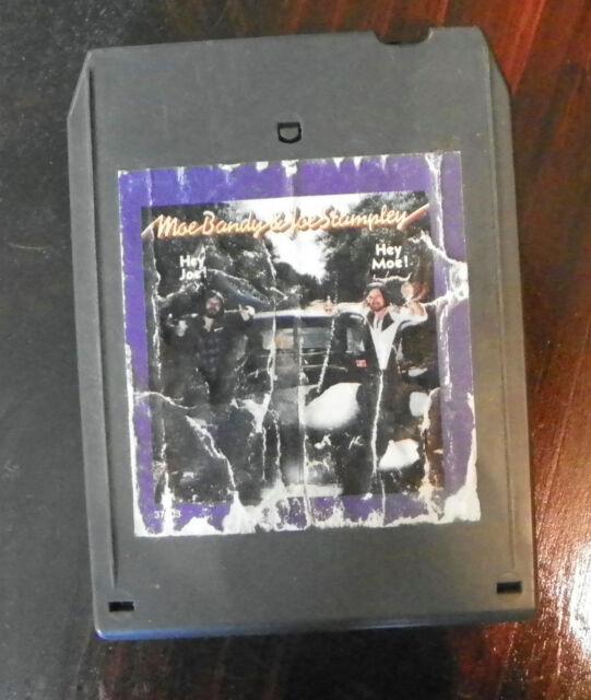 Moe Bandy Joe Stampley 8 Track Cartridge Tape Ebay