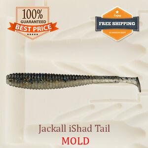 Jackall-iShad-Tail-Shad-Fishing-Mold-Swimbait-Lure-Bait-Soft-Plastic-50-mm