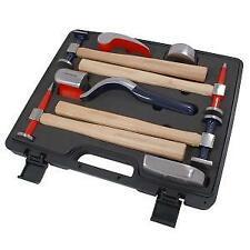 Auto Body Panel Beating Repair Tool Hammer Kit 9pc Hickory Dollys Neilsen CT2097