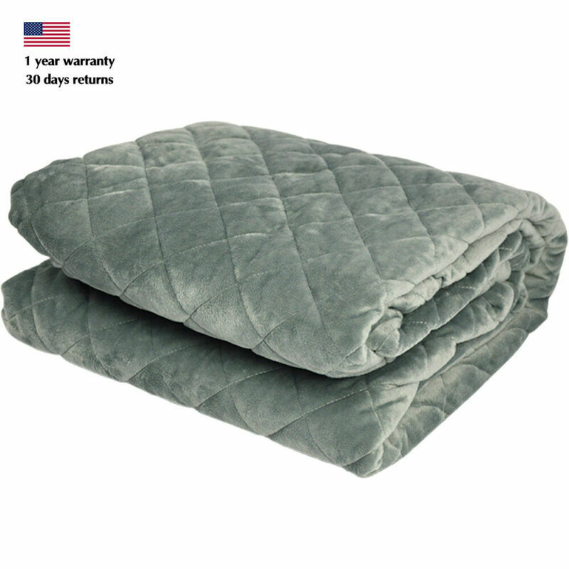 48''x72'' Cotton Duvet Cover Weighted Blanket Case 2.86Lbs Breathable Heavy BMG